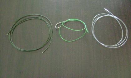 kevlar, acier, fluorocarbone