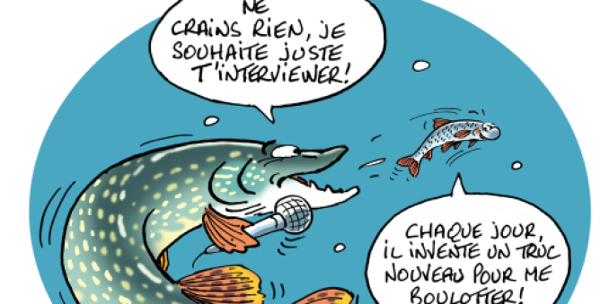 Dessin interview Foissy